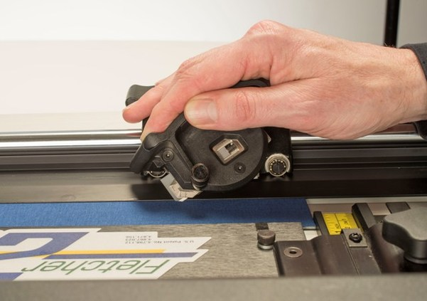 Cut Bevels And V Grooves 2200 Mat Cutter Fletcher